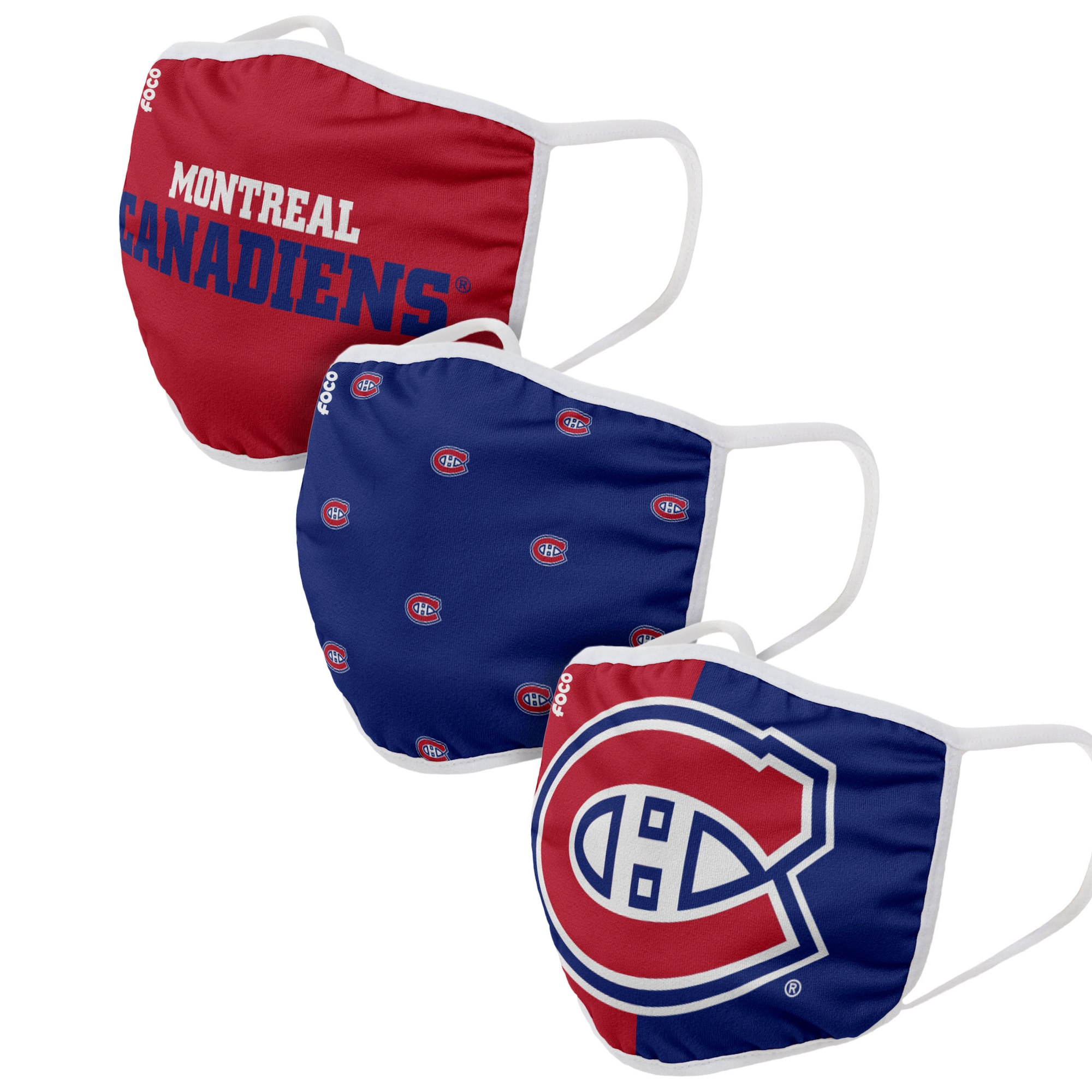New Non Medical Habs Washable 3 Pack Face Mask With Filter Adults Kid Sizes Breathesafely